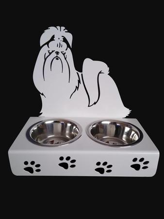 Stojak ,miski dla psa, SHIH TZU (1)