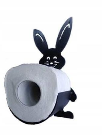 Uchwyt na papier, toaletowy, królik (1)