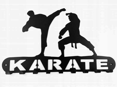 Wieszak , na medale, ręczniki , ubrania, Karate (1)